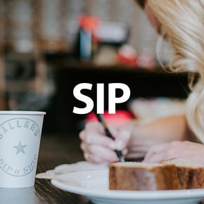 Coffee, Juice, Wine at Sip and Sh